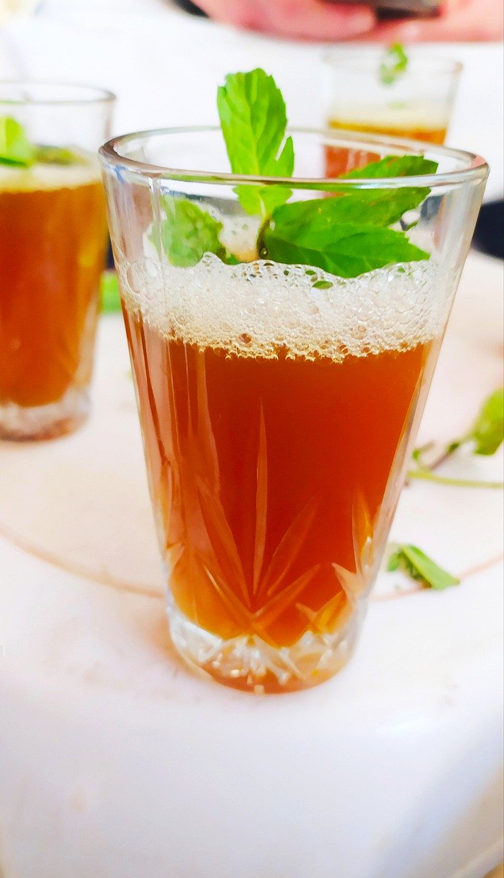 mint, health, drink