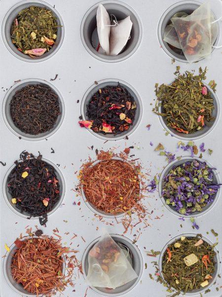 tea, variety, drink